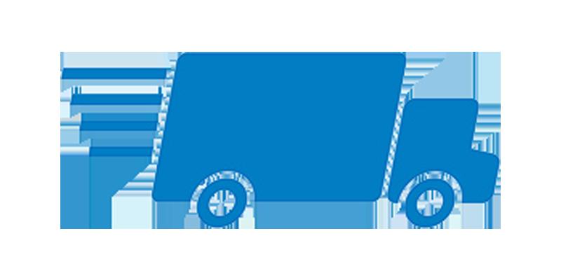 immagine di un furgone che si muove veocemente